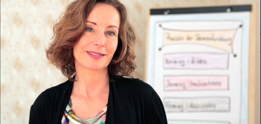 Businesscoach Eva Hönnecke, Berlin, im Video zum Führungskräfte-Coaching