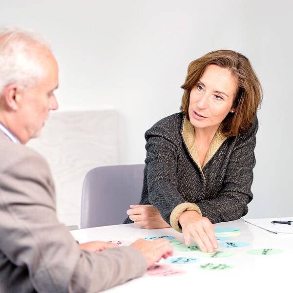 Eva Hönnecke im Führungskräftecoaching